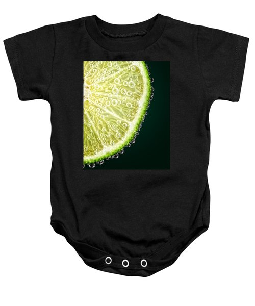 Lime Slice Baby Onesie