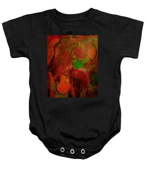 Lion Proile Baby Onesie