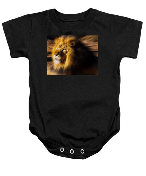 Lion The King Is Comming Baby Onesie
