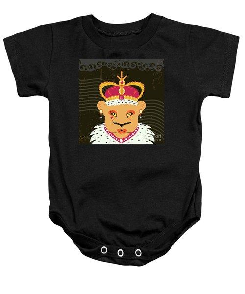Lioness Queen Baby Onesie