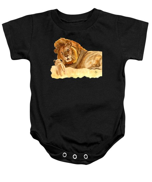 Lions Baby Onesie