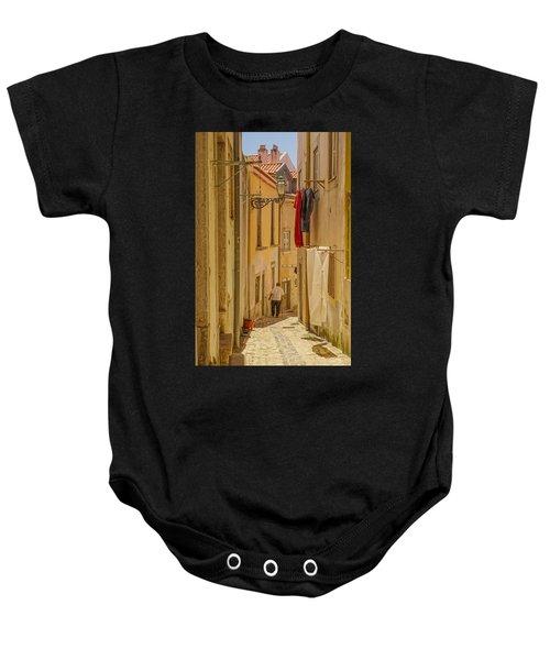 Lisbon Street # 1 Baby Onesie