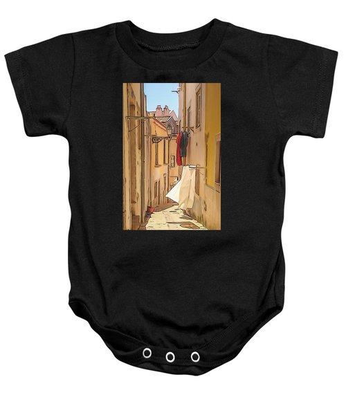 Lisbon Street #2 Baby Onesie