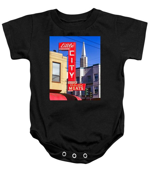 Little City Market North Beach San Francisco Baby Onesie