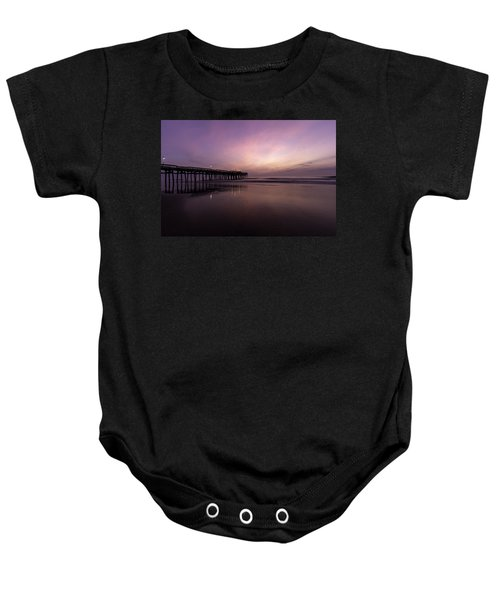 Little Island Sunrise Baby Onesie
