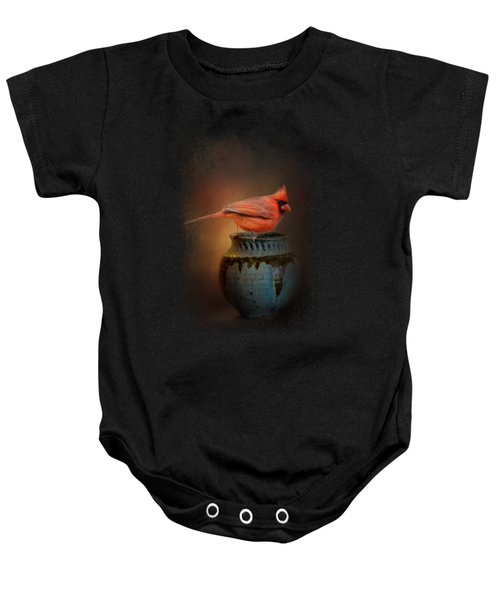 Little Red Guardian Baby Onesie