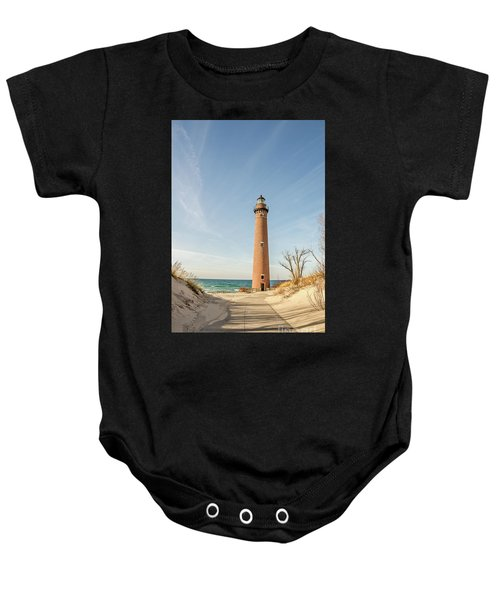 Little Sable Point Lighthouse Baby Onesie