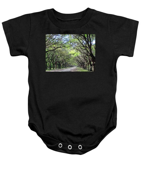 Live Oak Canopy Baby Onesie