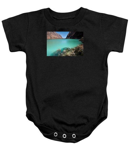 Llanganuco Lakes Baby Onesie