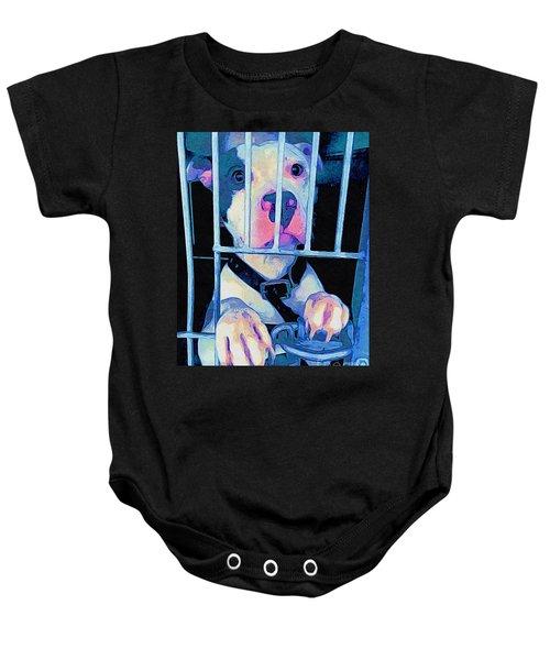 Locked Up Baby Onesie