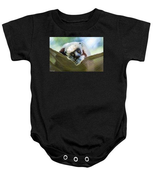 Lonely Lemur Baby Onesie