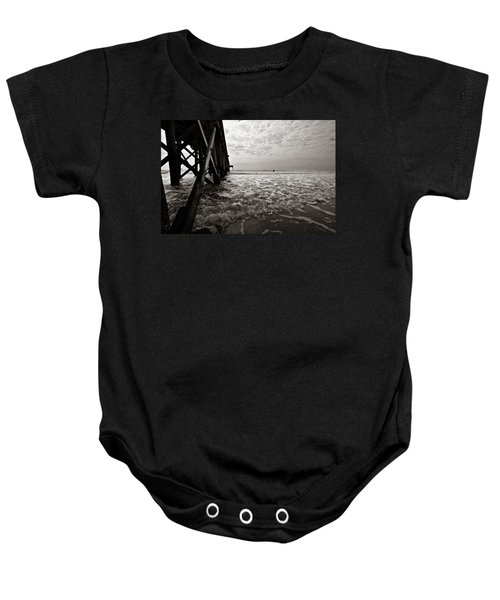 Long To Surf Baby Onesie