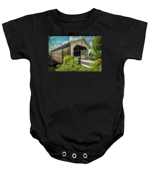Longley Bridge Baby Onesie