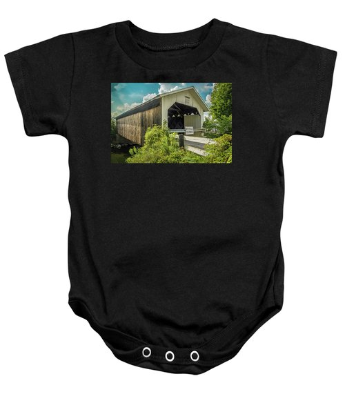 Longley Bridge Baby Onesie