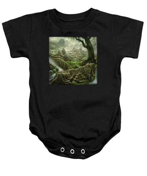 Looking Inward Baby Onesie