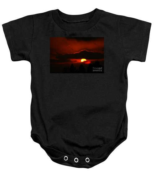 Lost In Thought Baby Onesie
