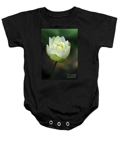 Lotus Blooming Baby Onesie