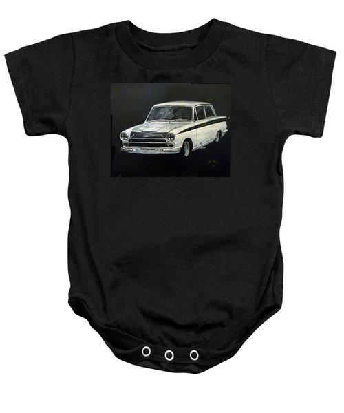 Lotus Cortina Baby Onesie