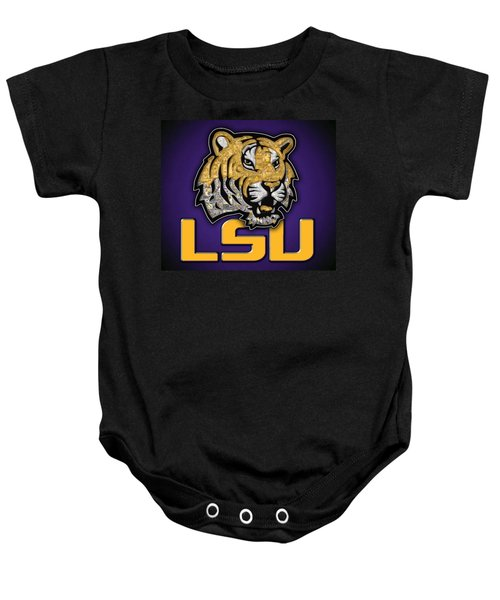 Louisiana State University Tigers Football Baby Onesie