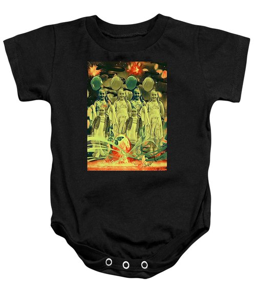 Love In The Age Of War Baby Onesie