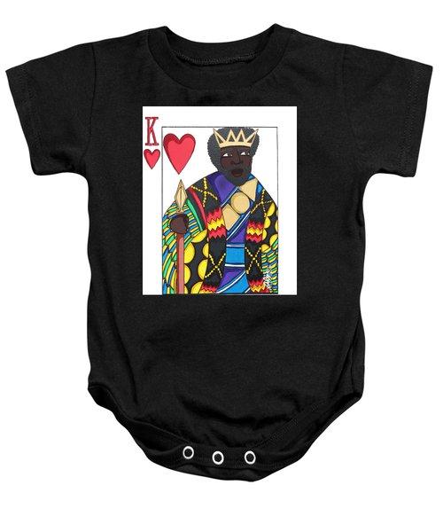 Love King Baby Onesie