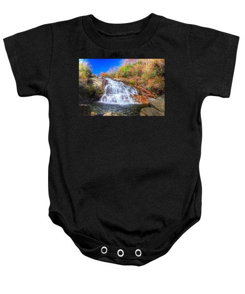 Lower Falls At Graveyard Fields Baby Onesie