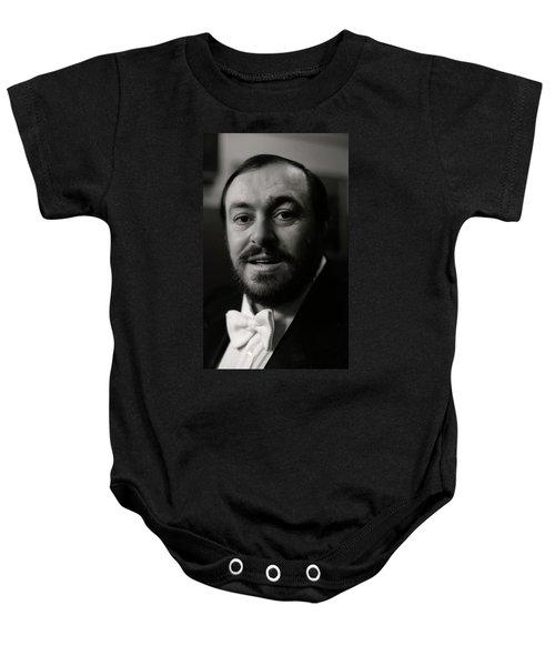 Luciano Pavarotti Baby Onesie