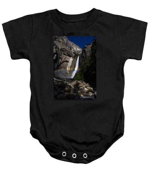 Baby Onesie featuring the photograph Lunar Rainbow by Vincent Bonafede