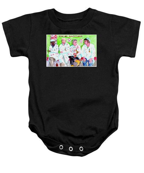 Lunch At The Slaughter House Baby Onesie