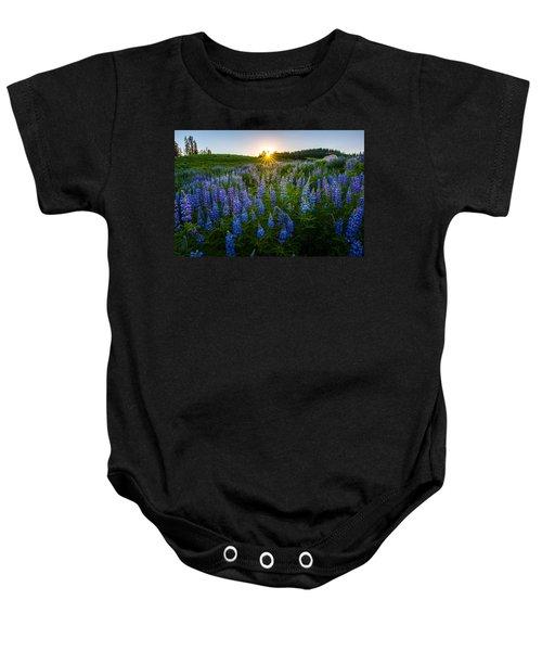 Lupine Meadow Baby Onesie