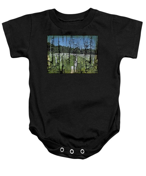 Luxembourg Wwii Memorial Cemetery Baby Onesie