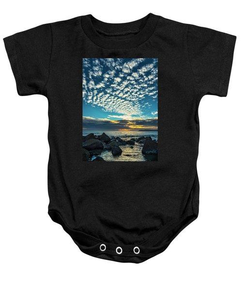 Mackerel Sky Baby Onesie