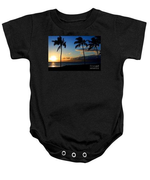 Mai Ka Aina Mai Ke Kai Kaanapali Maui Hawaii Baby Onesie