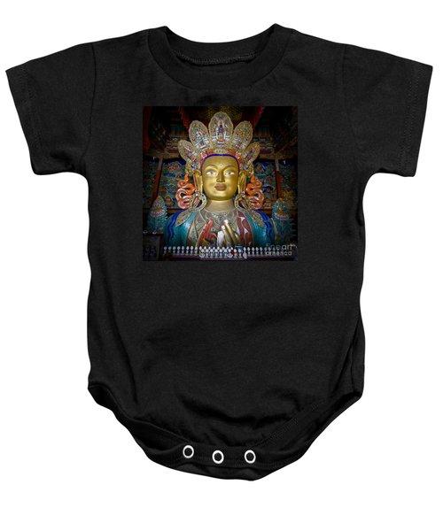 Maitreya Buddha Baby Onesie