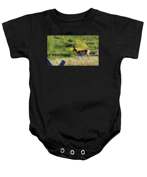 Male Pronghorn Baby Onesie