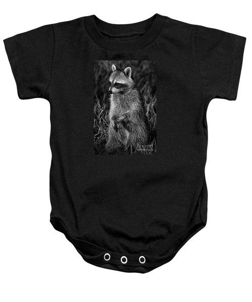 Mama Raccoon Baby Onesie