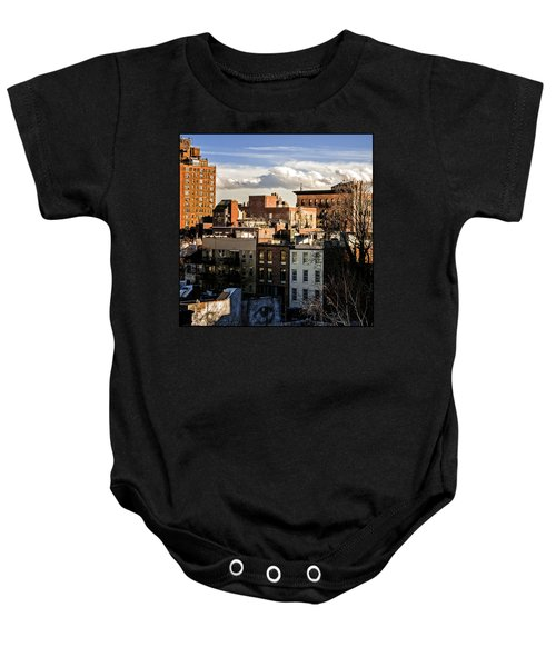 Manhattan From The Whitney Baby Onesie