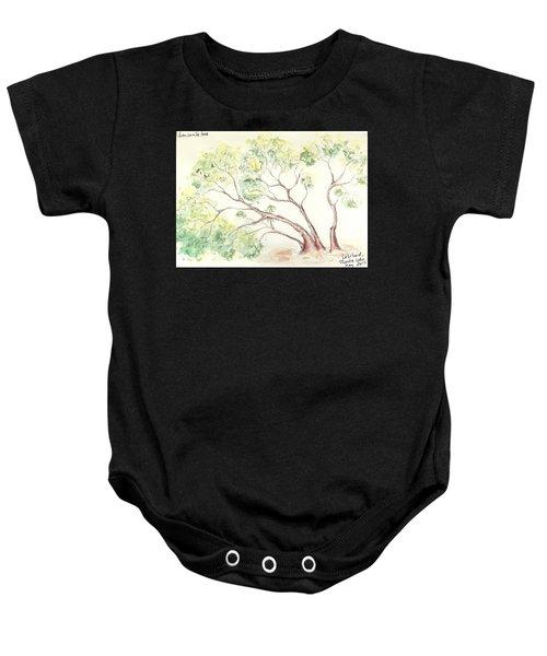 Manzanita Tree Baby Onesie