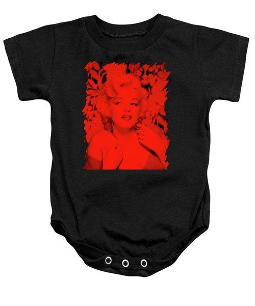 Marilyn Monroe Baby Onesie by Mona Jain