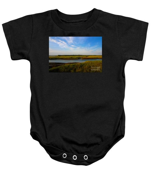 Marshland Charleston South Carolina Baby Onesie