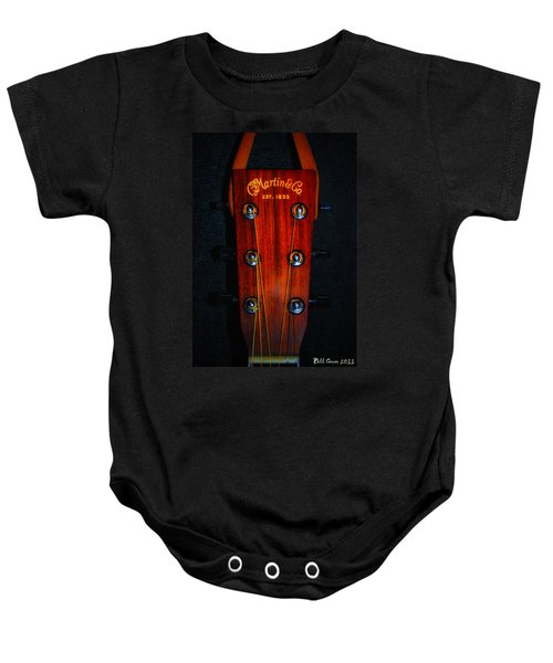 Martin And Co. Headstock Baby Onesie