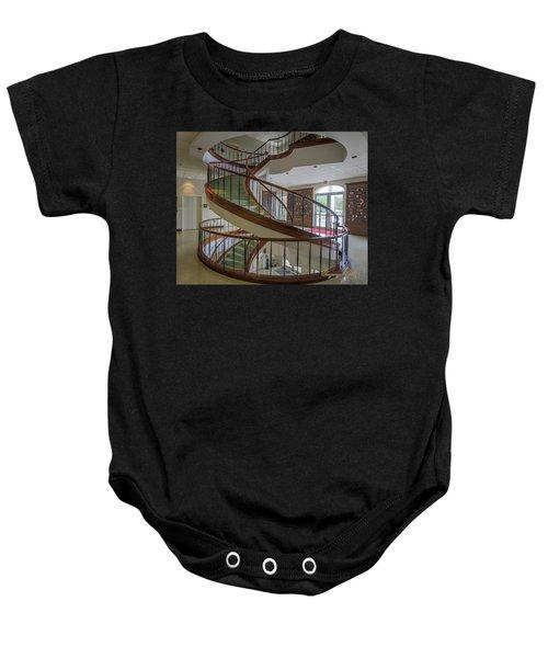 Marttin Hall Spiral Stairway 2 Baby Onesie