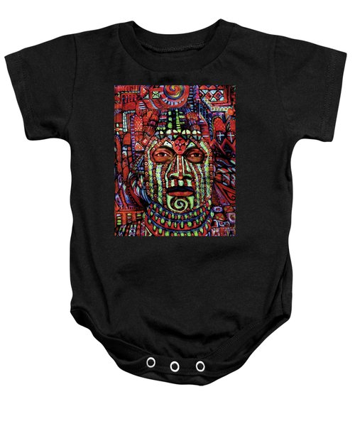 Masque Number 3 Baby Onesie