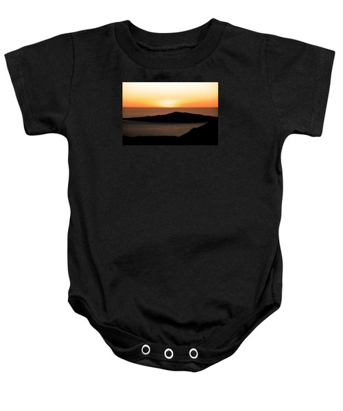 Baby Onesie featuring the photograph Mauna Kea Sunset by Jennifer Ancker