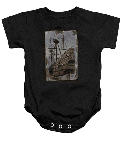 Mayflower 1 Baby Onesie