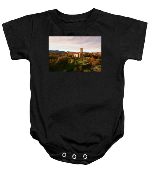 Medieval Tuscany Baby Onesie