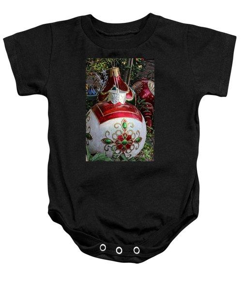 Merry Joyful Christmas Baby Onesie