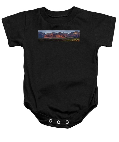 Mescal Mountain Panorama Baby Onesie