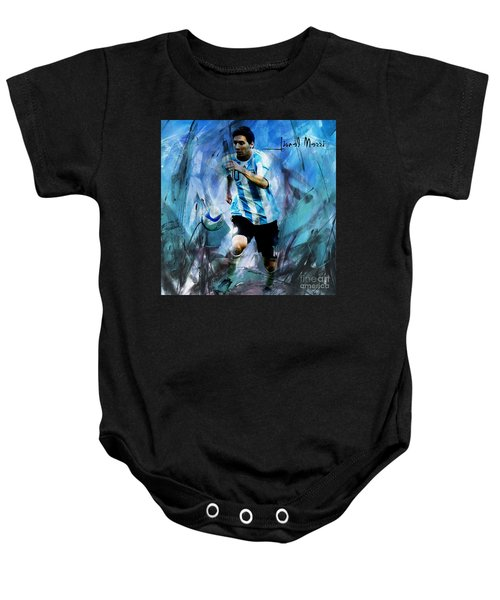 Messi 98iu Baby Onesie