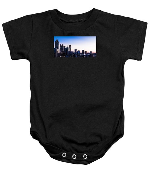 Metallic Sunset Baby Onesie